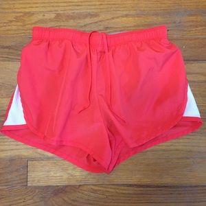 Nike Fit Athletic Mesh Stripe Running Shorts